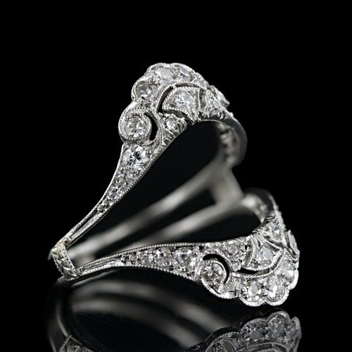 Wrap Around Engagement Rings Durham Rose