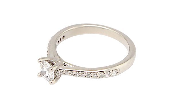 Designer Solitaire Engagement Ring