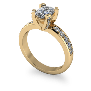 """<a href=""""/book-now-bespoke-ring?context=Cushion cut diamond ring with decorative claws""""></a>Cushion cut diamond ring with decorative claws"""