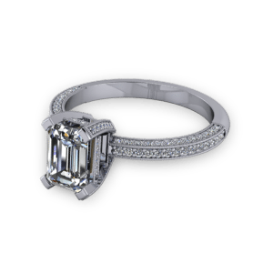"""<a href=""""/book-now-bespoke-ring?context=Vintage style emerald cut ring""""></a>Vintage style emerald cut ring"""