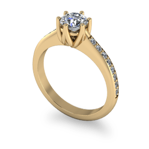 """<a href=""""/book-now-bespoke-ring?context=Decorative six claw solitaire""""></a>Decorative six claw solitaire"""