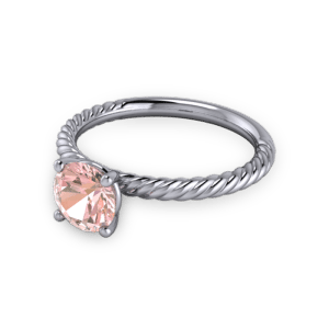 """<a href=""""/book-now-bespoke-ring?context=Twisted pink sapphire engagement ring""""></a>Twisted pink sapphire engagement ring"""