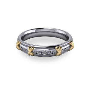 """<a href=""""/book-now-bespoke-ring?context=Platinum eternity with taper channel set stones""""></a>Platinum eternity with taper channel set stones"""