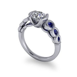 """<a href=""""/book-now-bespoke-ring?context=Contemporary sapphire and diamond ring""""></a>Contemporary sapphire and diamond ring"""