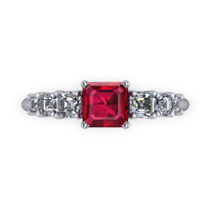 """<a href=""""/book-now-bespoke-ring?context=Stepped ascher cut ruby ring""""></a>Stepped ascher cut ruby ring"""