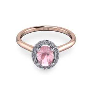 """<a href=""""/book-now-bespoke-ring?context=Pink Morganite halo ring""""></a>Pink Morganite halo ring"""