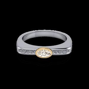 """<a href=""""/book-now-bespoke-ring?context=Bezel set champagne diamond""""></a>Bezel set champagne diamond"""
