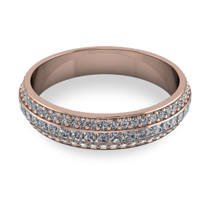 """<a href=""""/book-now-bespoke-ring?context=Rose band three row eternity""""></a>Rose band three row eternity"""