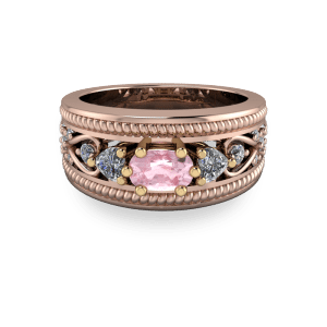 "<a href=""/book-now-bespoke-ring?context=	18kt rose gold cocktail ring	"">	</a>	18kt rose gold cocktail ring"