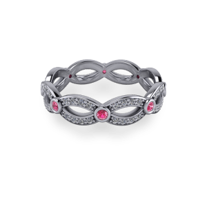 """<a href=""""/book-now-bespoke-ring?context=pink and white wovan eternity""""></a>pink and white wovan eternity"""