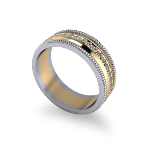 "<a href=""/book-now-bespoke-ring?context=	Mixed metal diamond band	"">	</a>	Mixed metal diamond band"