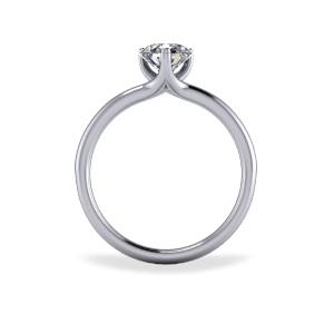 """<a href=""""/book-now-bespoke-ring?context=Contemporary three claw diamond ring""""></a>Contemporary three claw diamond ring"""