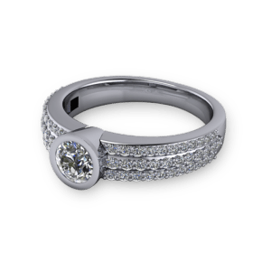 """<a href=""""/book-now-bespoke-ring?context=Pave bezel set single stone""""></a>Pave bezel set single stone"""