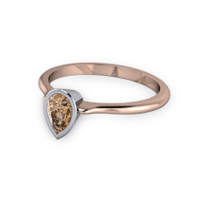 """<a href=""""/book-now-bespoke-ring?context=Pear shaped cognac diamond ring""""></a>Pear shaped cognac diamond ring"""