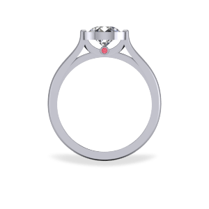 """<a href=""""/book-now-bespoke-ring?context=Modern bezel set engagement ring""""></a>Modern bezel set engagement ring"""
