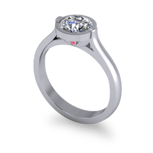 """<a href=""""/book-now-bespoke-ring?context=Engagement ring with peak stone""""></a>Engagement ring with peak stone"""