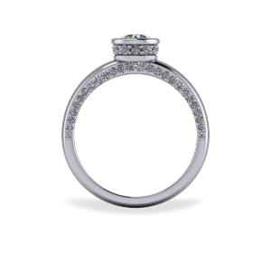 """<a href=""""/book-now-bespoke-ring?context=Encrusted bezel set engagement ring""""></a>Encrusted bezel set engagement ring"""