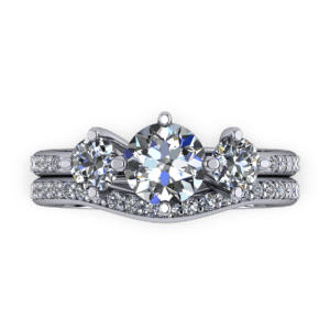 """<a href=""""/book-now-bespoke-ring?context=Platinum classic trilogy ring set""""></a>Platinum classic trilogy ring set"""