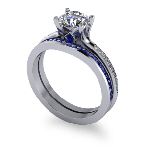 """<a href=""""/book-now-bespoke-ring?context=Matching sapphire wedding band""""></a>Matching sapphire wedding band"""