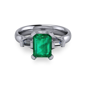 """<a href=""""/book-now-bespoke-ring?context=Radiant emerald platinum modern ring""""></a>Radiant emerald platinum modern ring"""