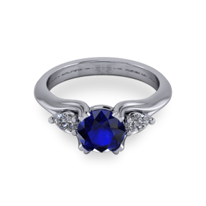 """<a href=""""/book-now-bespoke-ring?context=Sculpted split shank 3 stone ring""""></a>Sculpted split shank 3 stone ring"""