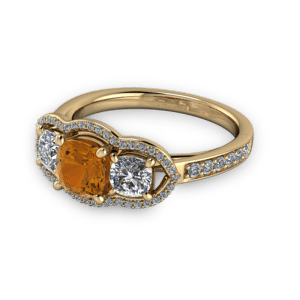 "<a href=""/book-now-bespoke-ring?context=	Cognac diamond unique halo engagement ring	"">	</a>	Cognac diamond unique halo engagement ring"