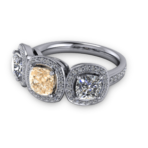 """<a href=""""/book-now-bespoke-ring?context=Vintage champagne diamond halo ring""""></a>Vintage champagne diamond halo ring"""