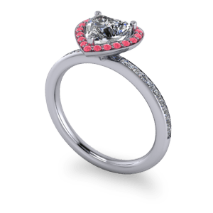 """<a href=""""/book-now-bespoke-ring?context=Pink and white diamond halo ring""""></a>Pink and white diamond halo ring"""