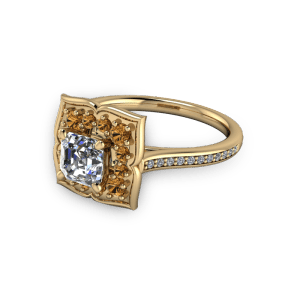 "<a href=""/book-now-bespoke-ring?context=	gold flower style vintage golden sapphire engagement ring	"">	</a>	gold flower style vintage golden sapphire engagement ring"