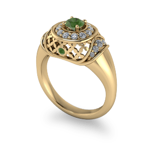 "<a href=""/book-now-bespoke-ring?context=	Arabian style vintage gold and peridot dress ring	"">	</a>	Arabian style vintage gold and peridot dress ring"