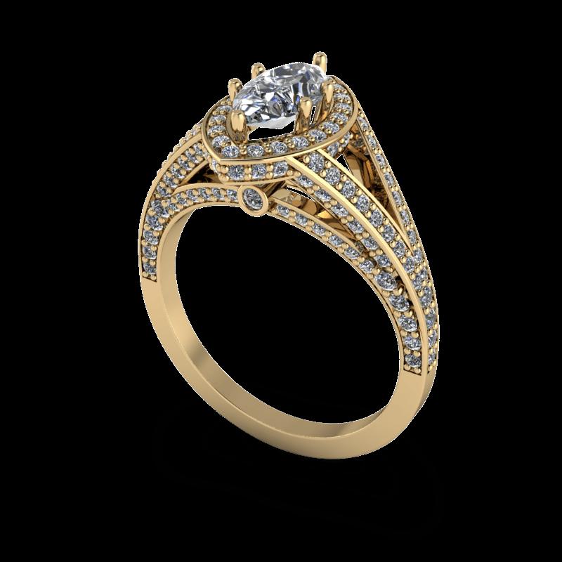 custom marquise rings   durham rose