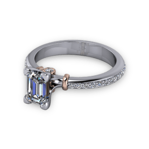 """<a href=""""/book-now-bespoke-ring?context=Platinum ring with rose gold accents""""></a>Platinum ring with rose gold accents"""