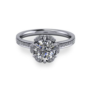 """<a href=""""/book-now-bespoke-ring?context=Elegant six claw flower ring""""></a>Elegant six claw flower ring"""