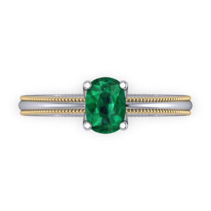 """<a href=""""/book-now-bespoke-ring?context=Two tone emerald engegment ring""""></a>Two tone emerald engegment ring"""