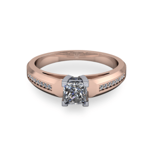 """<a href=""""/book-now-bespoke-ring?context=Chunky 14kt rose gold princess cut""""></a>Chunky 14kt rose gold princess cut"""