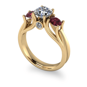 """<a href=""""/book-now-bespoke-ring?context=Organic gold 3 stone ring""""></a>Organic gold 3 stone ring"""