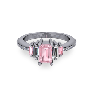 "<a href=""/book-now-bespoke-ring?context=	Radiant Pink morganite art deco engagement ring	"">	</a>	Radiant Pink morganite art deco engagement ring"