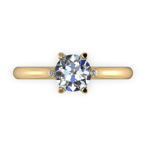 """<a href=""""/book-now-bespoke-ring?context=Six claw solitaire with diamond tip""""></a>Six claw solitaire with diamond tip"""