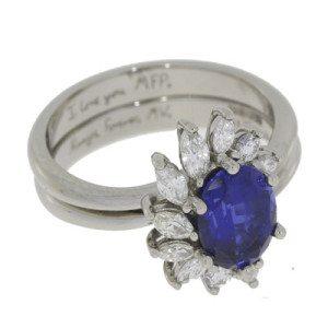 Custom bespoke ring by Durham Rose