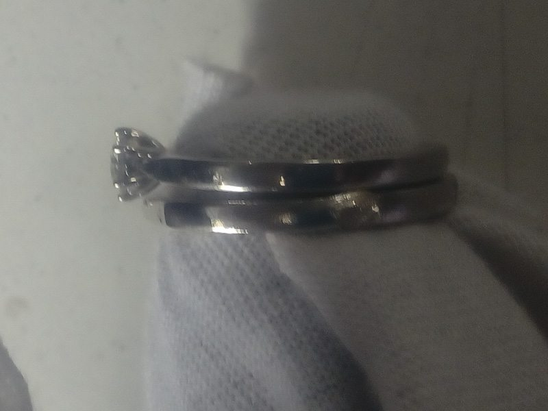 Mobius Bow Tie Wedding band