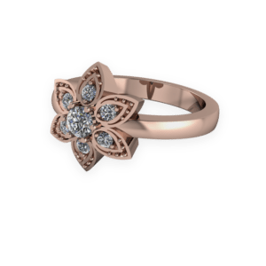 """<a href=""""/book-now-bespoke-ring?context=378-Rose-gold-and-diamond-flower-rin""""></a>Rose gold and diamond flower ring"""