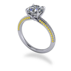 """<a href=""""/book-now-bespoke-ring?context=383-Platinum-white-and-yellow-diamond-solitaire""""></a>Platinum white and yellow diamond solitaire"""