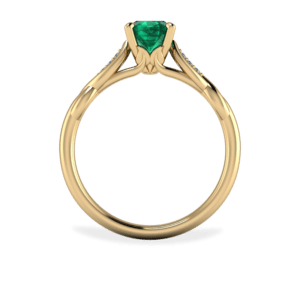 """<a href=""""/book-now-bespoke-ring?context=390-Intricate-Emerald-and-Diamond-Leaf-Ring""""></a>Intricate emerald and diamond leaf ring"""