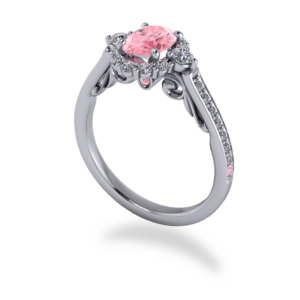 """<a href=""""/book-now-bespoke-ring?context=391-Platinum-Pink-White-diamond-Custon-cluster-halo""""></a>Platinum pink & white diamond custon cluster halo"""
