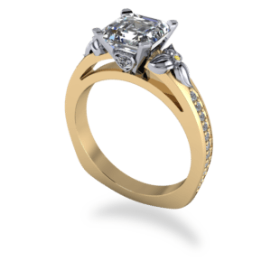 "<a href=""/book-now-bespoke-ring?context=404-Platinum-and-yellow-gold-asscher-cut-floral-ring""></a>Platinum and yellow gold asscher cut floral ring"