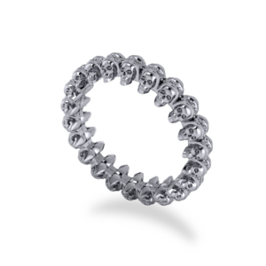 "<a href=""/book-now-bespoke-ring?context=	415-Platinum-skull-and-pave-set-full-eternity-band	"">	</a>	Platinum skull and pave set full eternity band"