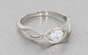 Infinity Engagement Ring - Portfolio