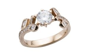 Customised Iconic Adonis engagement ring - Portfolio