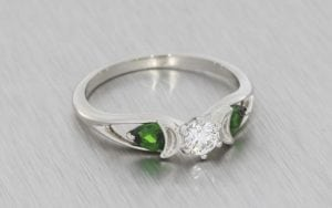 Wiccan Trilogy Engagement Ring - Portfolio