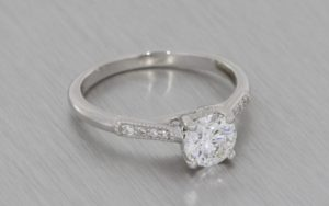 Scroll Engagement Ring - Portfolio